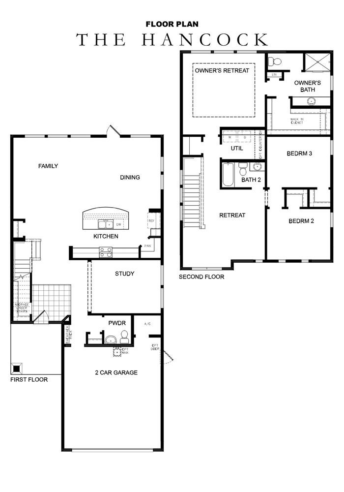 David Weekley Homes Renderings Floorplans Trailmark