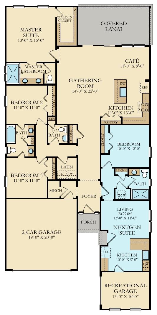 Lennar Homes Renderings Floorplans Trailmark