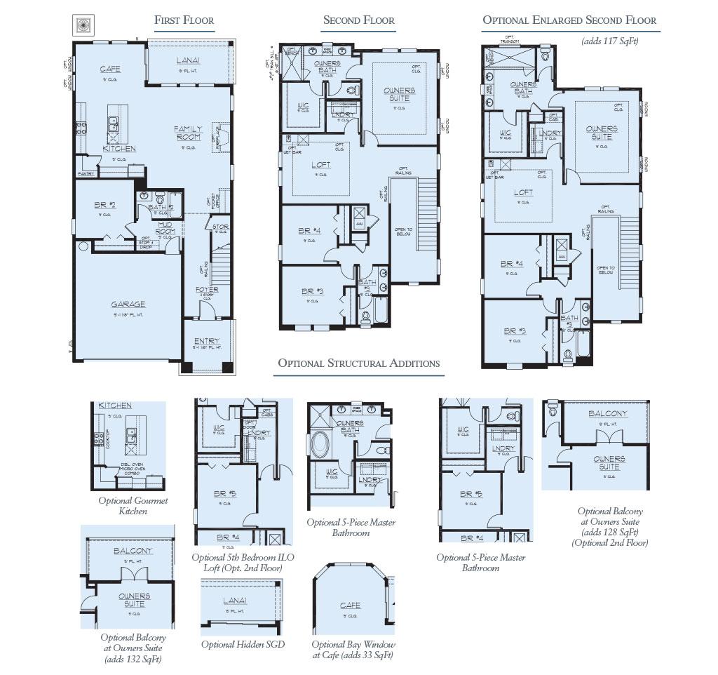 Dream Finders Homes Renderings Floorplans Trailmark