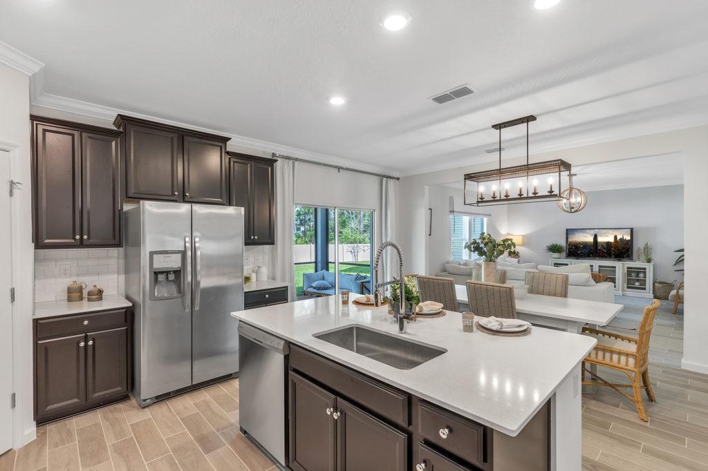 Lennar Brio Kitchen Open Plan